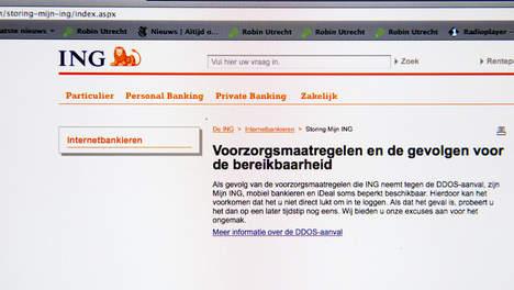 Massa-aanval op Nederlandse banken