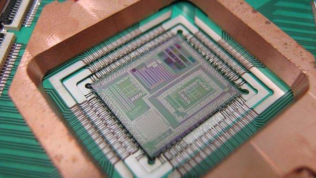 De kwantum(?)computer van D-Wave